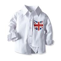 เสื้อเชิ้ตแขนยาว-ธงชาติอังกฤษ