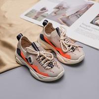 รองเท้าผ้าใบเด็กแฟชั่น-Net-Shoe-สีส้ม