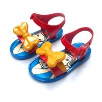 รองเท้ารัดส้นแบบสวม-Snow-White-โบว์สีเหลือง
