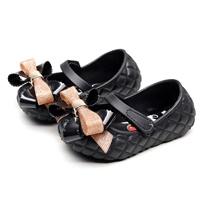 รองเท้าติดโบว์-Minnie-Mickey-สีดำ