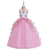 เดรสออกงานสุดหรู-Unicorn-Princess-สีชมพู