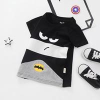 เสื้อยืดแฟชั่น-ลายหน้า-Batman-สีดำ