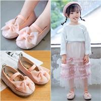 รองเท้าคัทชู-SULA-BABY-ติดโบว์สีชมพู