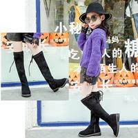 รองเท้าบูท-แบบสูง-Korean-Girl-สีดำ