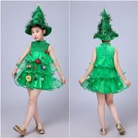 ชุดเดรส-Xmas--พร้อมหมวกต้นคริสมาสต์-สีเขียว-