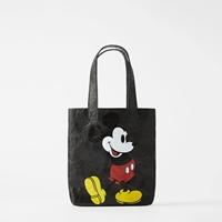 กระเป๋ามิกกี้ลดโลกร้อน-ใบเล็ก-สีดำ