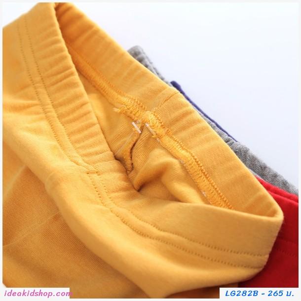 เลกกิ้งขายาว MICKEY AND FRIENDS สีเหลือง