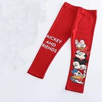 เลกกิ้งขายาว-MICKEY-AND-FRIENDS-สีแดง