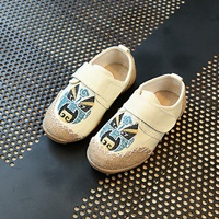 รองเท้าผ้าใบจีน-หน้ากากจีน-สีขาว