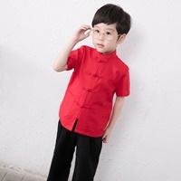 ชุดเด็กจีน-จีน-นักเรียนฮ่องกง-เด็กชาย