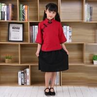 ชุดเด็กจีน-จีน-นักเรียนฮ่องกง-เด็กหญิง