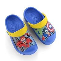 รองเท้าเด็กสไตล์-Crocs-CaptainและIron-Man-