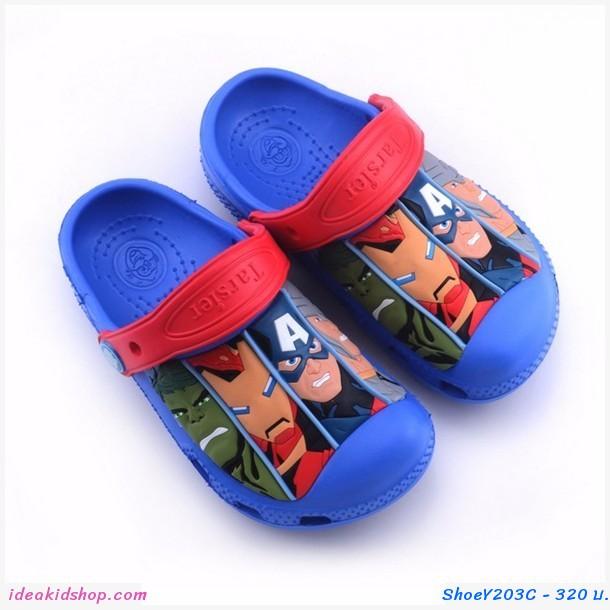 รองเท้าเด็กสไตล์ 4 Super Hero