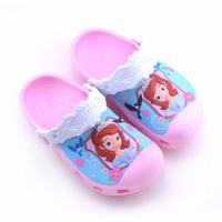 รองเท้าเด็กสไตล์-Sofia-ชมพูอ่อน