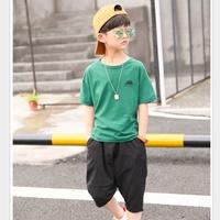 ชุดเสื้อกางเกง-Hiphop-CATTEE-สีเขียว