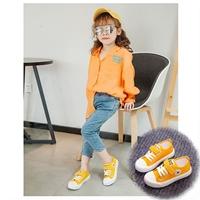 รองเท้าผ้าใบหุ้มส้นสไตล์-Converse-สีเหลือง