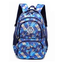 กระเป๋าสะพาย-ลายโมเสก-Mosaic-สีน้ำเงิน