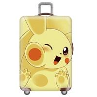 ผ้าคลุมกระเป๋าเดินทางลาย-Pikachu-Close-up
