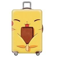 ผ้าคลุมกระเป๋าเดินทางลาย-Ice-cream-Pikachu