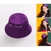 หมวกเด็กปีกรอบแฟชั่น-สไตล์-Hip-hop-สีม่วง