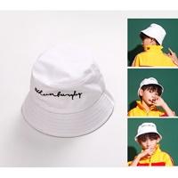 หมวกเด็กปีกรอบแฟชั่น-สไตล์-Hip-hop-สีขาว