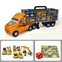 รถบรรทุกตู้คอนเทนเนอร์(Storage-box-_โมเดล--8-ชิ้น)