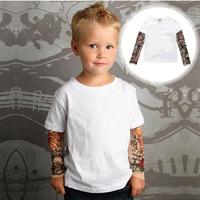 เสื้อยืดแขนยาว-Tattoo-T-Shirt-สีพื้น-สีขาว