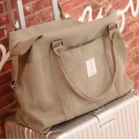 กระเป๋าถือ-Packing-Travel-สีกากี