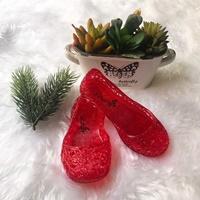 รองเท้ารังนก-ชุดเด็ก-สีแดง