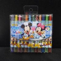 สีเทียนหมุนได้-12-สี-Mickey-_-Minnie