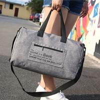 กระเป๋าเดินทางพับเก็บได้-Travel-Bag-สีเทา