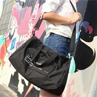 กระเป๋าเดินทางพับเก็บได้-Travel-Bag-สีดำ