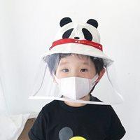 หมวกพร้อมหน้ากากป้องกัน-สไตล์ญี่ปุ่น-ลายแพนด้า