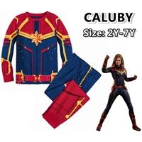 ชุดเสื้อกางเกง-Captian-Marvel-Style-
