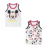 เสื้อกล้ามเด็กลายการ์ตูน-Mickey-mouse-(เซต-2-ตัว)