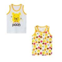 เสื้อกล้ามเด็กลายการ์ตูน-Pooh-(เซต-2-ตัว)