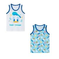 เสื้อกล้ามเด็กลายการ์ตูน-Baby-Donald-(เซต-2-ตัว)