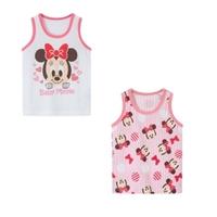 เสื้อกล้ามเด็กลายการ์ตูน-Minnie-Mouse(เซต-2-ตัว)