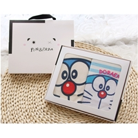 เสื้อยืดเด็ก-Box-set-ลาย-Doraemon(เซต-2-ตัว)