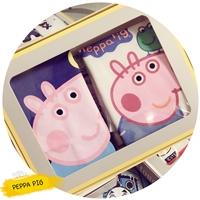 เสื้อยืดเด็ก-Box-set-ลาย-Peppa-pig(เซต-2-ตัว)
