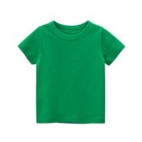 เสื้อยืดเด็กพื้นเรียบ-สีเขียว