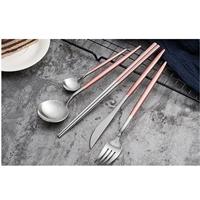 เซตทานอาหาร-Silver-Premium-สีชมพู(เซต-5-ชิ้น)