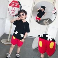 ชุดเสื้อกางเกง-Mickey-Mouse