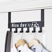 ตะขอแขวนเกี่ยวขอบประตู-Nice-day-สีดำ