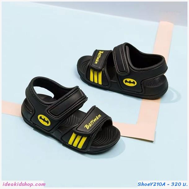 รองเท้ารัดส้น soft-soled beach shoes ลาย Batman