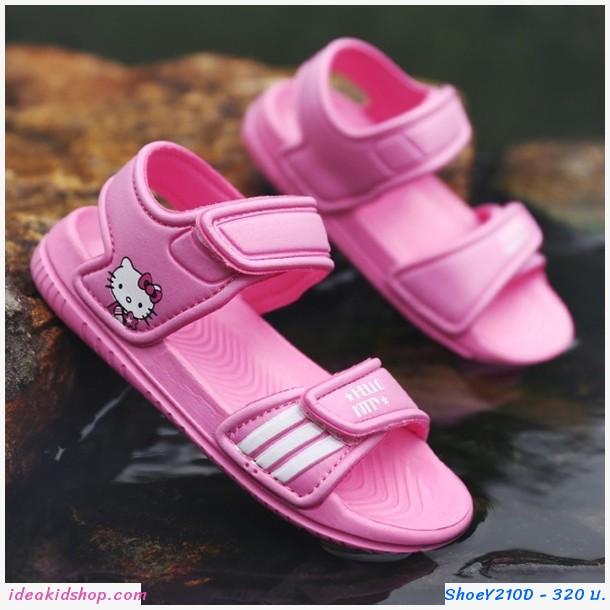รองเท้ารัดส้น soft-soled beach shoes ลาย Kitty