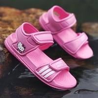 รองเท้ารัดส้น-soft-soled-beach-shoes-ลาย-Kitty