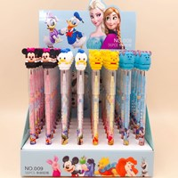 ดินสอเปลี่ยนไส้หัวการ์ตูน-Disney(แพค-8-แท่ง)