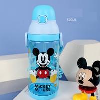 กระติกน้ำพร้อมหลอดเด้ง-520-มล.-Mickey-Mouse
