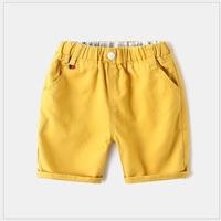 กางเกงเด็กขาสั้น-WAPYPY-สีเหลือง